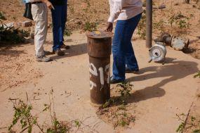 写真1. 西ダルフール州の井戸
